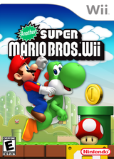 Another Super Mario Bros. Wii CUSTOM cover (SMNE05)