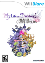 Final Fantasy Crystal Chronicles: My Life as a Darklord WiiWare cover (WF2E)