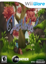 LostWinds WiiWare cover (WLWE)