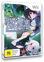 Fragile Dreams: Farewell Ruins of the Moon Wii cover (R2GP99)