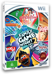 Hasbro: Family Game Night 2 Wii cover (R6XP69)