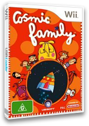 Cosmic Family Wii cover (RCFP41)
