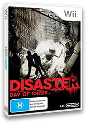 Disaster: Day of Crisis Wii cover (RDZP01)