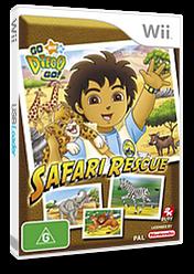 Go, Diego, Go! Safari Rescue Wii cover (REQX54)