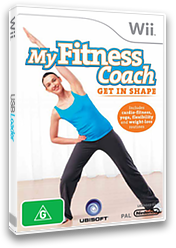 My Fitness Coach: Get In Shape Wii cover (RFKX41)