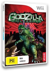 Godzilla Unleashed Wii cover (RGZP70)
