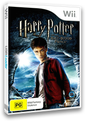 Harry Potter and the Half-Blood Prince Wii cover (RH6P69)