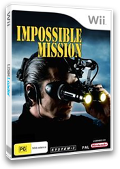 Impossible Mission Wii cover (RIMP6M)