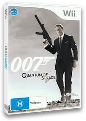 007: Quantum of Solace Wii cover (RJ2P52)