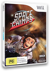 Space Chimps Wii cover (RP9PRS)