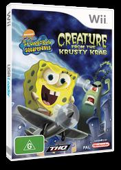 SpongeBob SquarePants: Creature from the Krusty Krab Wii cover (RQ4P78)