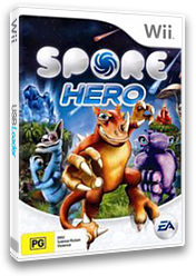 Spore Hero Wii cover (RQOP69)