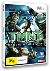 TMNT: Teenage Mutant Ninja Turtles Wii cover (RTMP41)