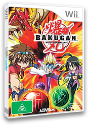 Bakugan Battle Brawlers Wii cover (RUHP52)