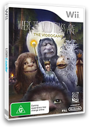 Where the Wild Things Are Wii cover (RXQPWR)