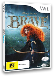 Brave: The Video Game Wii cover (S6BP4Q)
