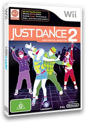 Just Dance 2 Wii cover (SD2P41)