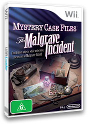 Mystery Case Files:The Malgrave Incident Wii cover (SFIP01)