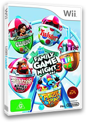Hasbro: Family Game Night 3 Wii cover (SHBP69)