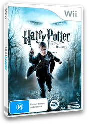 Harry Potter and the Deathly Hallows - Part 1 Wii cover (SHHP69)