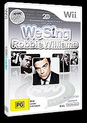 We Sing: Robbie Williams Wii cover (SINPNG)