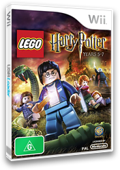 LEGO Harry Potter: Years 5-7 Wii cover (SLHPWR)