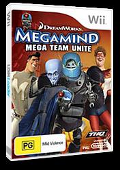 Megamind:Mega Team Unite Wii cover (SMGP78)
