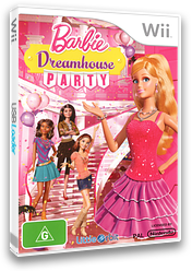 Barbie: Dreamhouse Party Wii cover (SNZPVZ)