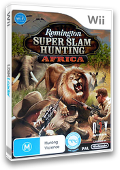 Remington Super Slam Hunting: Africa Wii cover (SS7URN)