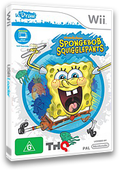 SpongeBob SquigglePants Wii cover (SS8P78)
