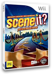 Scene It? Bright Lights! Big Screen! Wii cover (SSCPWR)