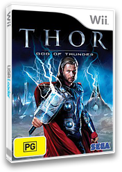 THOR: God of Thunder Wii cover (STHP8P)
