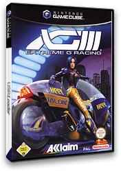 XGIII: Extreme G Racing GameCube cover (G3EP51)