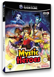 Mystic Heroes GameCube cover (GBHDC8)