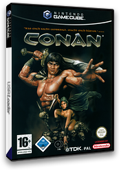 Conan GameCube cover (GC9P6S)