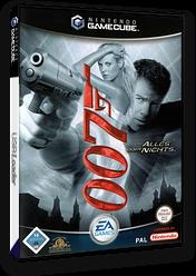 James Bond 007: Alles Oder Nichts GameCube cover (GEND69)