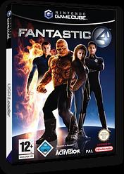 Die Fantastischen Vier GameCube cover (GF4D52)