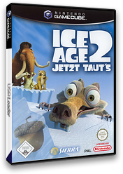 Ice Age 2: Jetzt Taut's GameCube cover (GIAP7D)