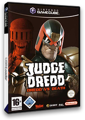 Judge Dredd: Dredd vs. Death GameCube cover (GJDX7D)
