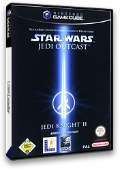 Star Wars Jedi Knight II: Jedi Outcast GameCube cover (GJKD52)