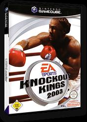 Knockout Kings 2003 GameCube cover (GKKP69)