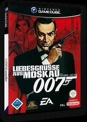 007: Liebesgrüsse aus Moskau GameCube cover (GLZD69)