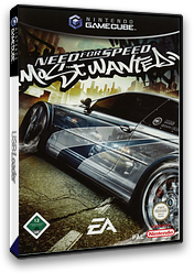 Need for Speed: Most Wanted GameCube cover (GOWD69)