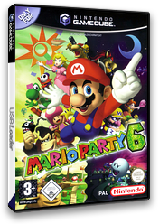 Mario Party 6 GameCube cover (GP6P01)
