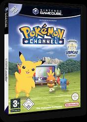 Pokémon Channel GameCube cover (GPAP01)