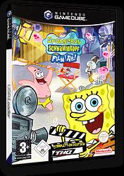 Nickelodeon SpongeBob Schwammkopf: Film ab! GameCube cover (GQQD78)