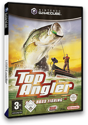 Top Angler:Real Bass Fishing GameCube cover (GTAP5S)