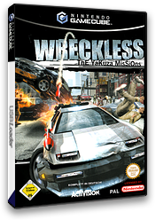 Wreckless: The Yakuza Missions GameCube cover (GWQP52)