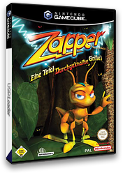 Zapper:Eine total Durchgeknallte Grille! GameCube cover (GZPP70)