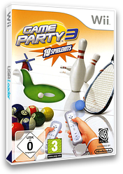 Game Party 3 Wii cover (R3EPWR)